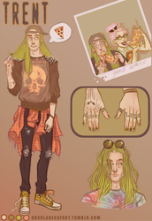 (closed) Adoptable :Trent by UrsulaDecay