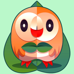 Sun and Moon: Rowlet by Olsonmabob