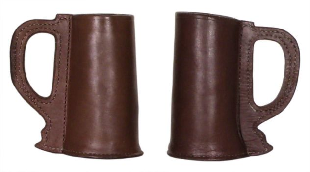Leather Tankards by DanTheLefty