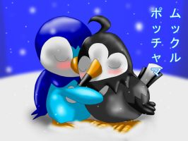 Piplup x Starly