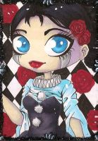 ACEO 36: Pierrot by Forunth