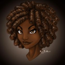 Curly by KiraTheArtist