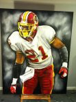 Sean Taylor 3d by dorseyart