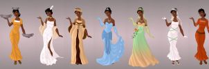 Tiana Wardrobe in Goddess Scene by autumnrose83
