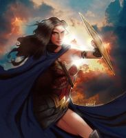 Wonder-woman by seban001