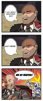 I am Heavy Weapons Guy... by Dragonith