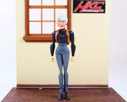 commissioner Barbara Gordon (Batman Beyond) figure by hunterknightcustoms