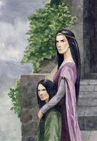 Morwen and Turin by Filat