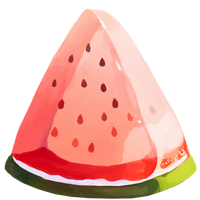 Watermelon by Rosemoji
