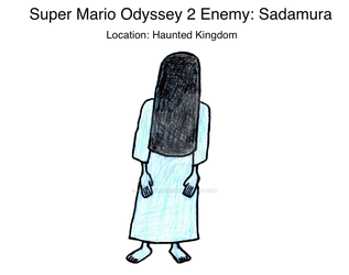 Super Mario Odyssey 2 Enemy: Sadamura by mrbill6ishere