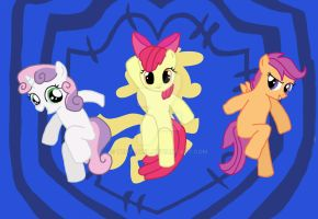 Cutie Mark Crusaders Go! by TexacoPokerKitty