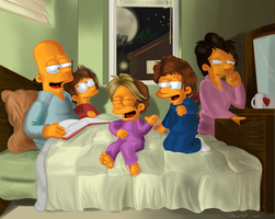 Bart the Dad. by simpspin