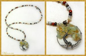Tree of the Earth Necklace by EmilyCammisa