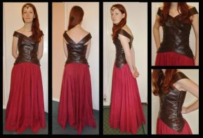 LOTR Elven (inspired) Dress by MaybeAnna