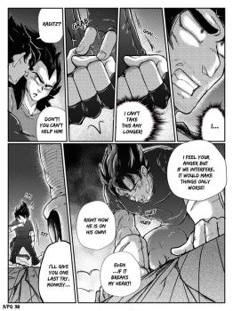 DBZ - Grown up under Ruins: Chapter 3 Page 38 by RedViolett