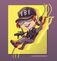 Ash Chibi by TheInsaneDingo