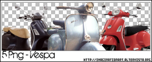Vespa Passion PNG - set 14 by pinkshadoww