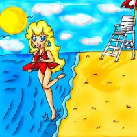 lifeguard peach by ninpeachlover