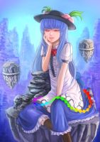 Tenshi Hinanawi by daybreaks0