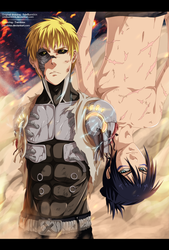 Genos and Sonic by RamzyKamen