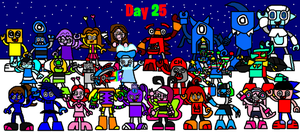 Mixels: Christmas: Day 25 by Luqmandeviantart2000