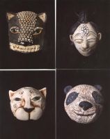 masks by moodywoods