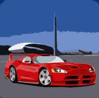Dodge Viper by trippy87oct