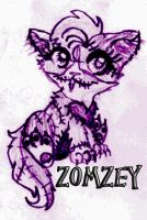 If Zomzey Had Been a Kitten by XamorahLunaris