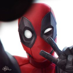 Deadpool Selfie by MaxGrecke