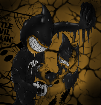 The Runaway Ink Demon by Core4Lost
