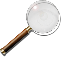 Magnifier Widget and Icons by yereverluvinuncleber