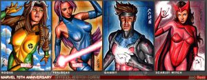 Marvel 70th Sketch Cards 13 by J-Redd