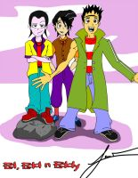 Return of the Ed Boys!!! Eddy, Edd n' Ed by JovanBKrood
