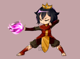 (AT) Fire Bender by SmolSalty
