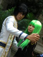 Cosplay: Lelouch and CC 2 by bloodyblue