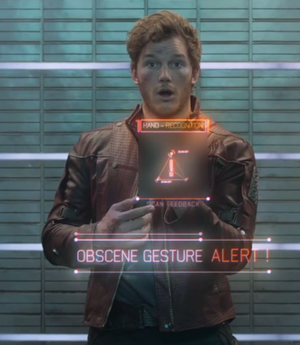 Image result for annoyed peter quill