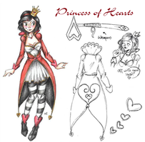 The Princess of Hearts (SV OC ref.) by MikuParanormal