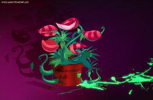Toxic carnivore plant by Static-ghost