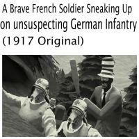 Brave French Soldier by TheFancyDrunkMan