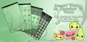 Kawaii Fruits go Launcher EX Theme by Jekmyster