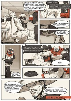 TMNT Dimension M Red and Black #10 Part1 page10/10 by zibanitu6969