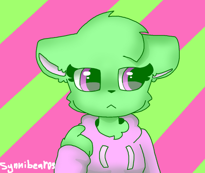 Green is not a creative color by synnibear03