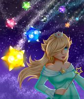 Princess Rosalina and Minior