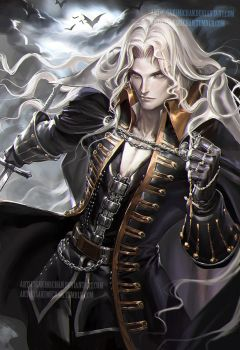 Alucard.NSFW optional. by sakimichan