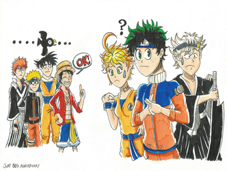 Jump's 50th Years -  The Successor of New Mangas? by FTFTheAdvanceToonist
