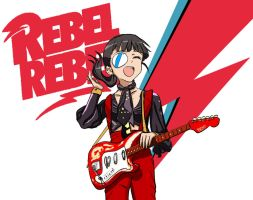 Mio The Rebel by Ozoneknight