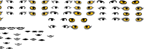 Homestuck sprite sheet by BurningQuantumCola