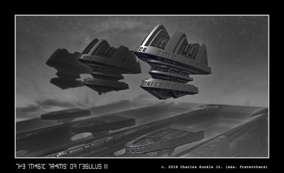 the 'magic trams' of Regulus III by fraterchaos
