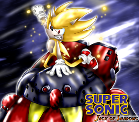 Super Sonic - The Final Battle by Jack-of-Shadows