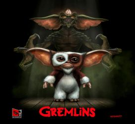 Gremlins by adlovett